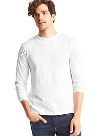 Essential long-sleeve crewneck T