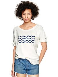 West Coast graphic sweatshirt T