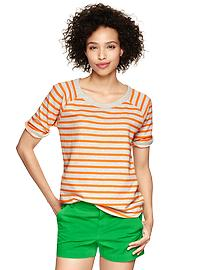 Striped sweatshirt T