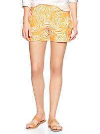 Printed sunkissed shorts