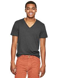 Essential deep V-neck T-shirt