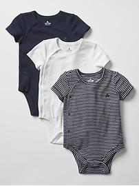 Favorite stripe bodysuit (3-pack)