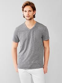 Lived-in V-neck T