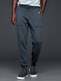 Lived-in fleece joggers