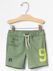 Explorer knit shorts