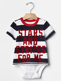 Americana stripe body double