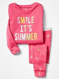 Summer ice cream sleep set