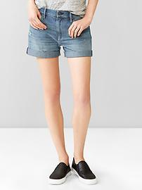 1969 destructed sexy boyfriend denim shorts
