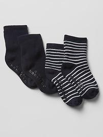 Favorite stripe socks (2-pack)