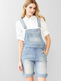 1969 denim short overalls