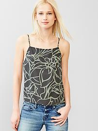 Printed fluid cami