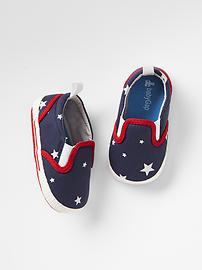 Americana star slip-on sneakers