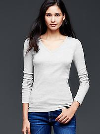 Pure Body Essentials modal V-neck top