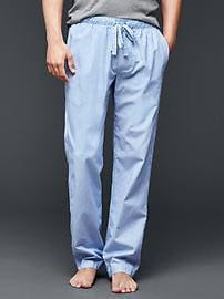 Thin stripe PJ pants