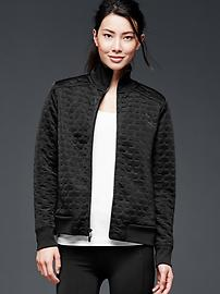 GapFit quilted bomber jacket