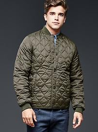PrimaLoft&#174 quilted bomber