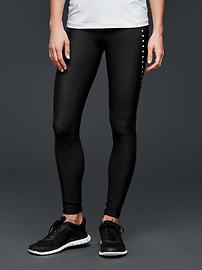 GapFit gFast reflective fleece leggings