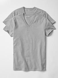 Stretch V-neck t-shirts (2-pack)