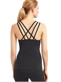 GapFit interlace-back tank