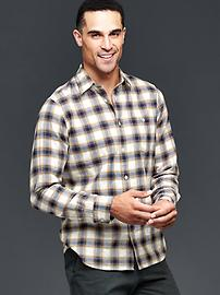 Empire plaid shirt