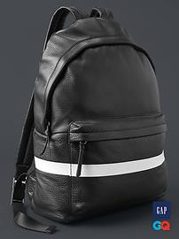 Gap + GQ STAMPD leather backpack