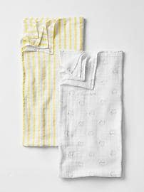 Gap x aiden + anais&#174 print swaddle  blanket (2-pack)