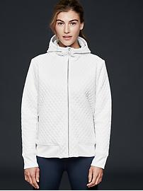 GapFit quilted scuba jacket