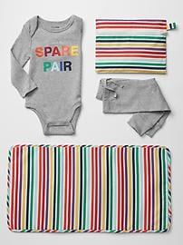 Spare pair packable set