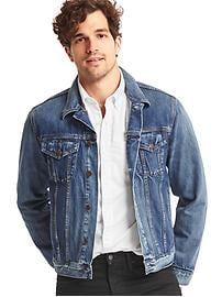 1969 icon denim jacket (medium indigo wash)