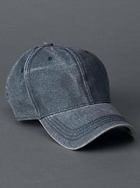 Washed baseball hat