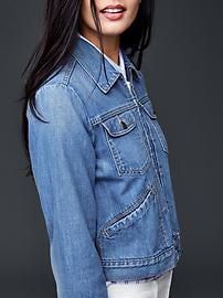1969 zip denim jacket