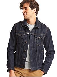 1969 icon denim jacket (dark indigo rinse)