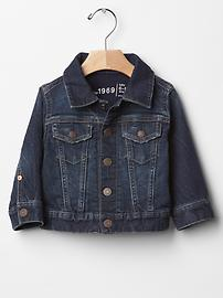 1969 knit denim jacket