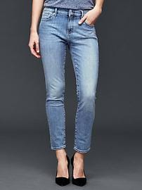 AUTHENTIC 1969 light worn girlfriend jeans
