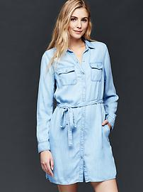 1969 western denim dress