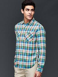 1969 icon plaid worker shirt