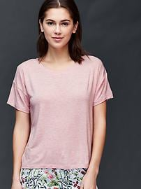 Modal mix and match tee