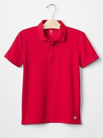 GapFit kids wicking polo