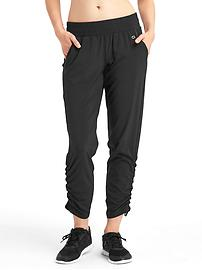 Cinch leg studio pants