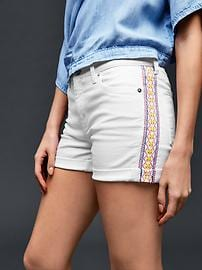 AUTHENTIC 1969 embroidered summer shorts