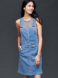 1969 denim overall dress