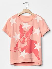 Starry dog sweatshirt