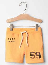 Surf knit shorts