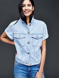 1969 denim short sleeve jacket