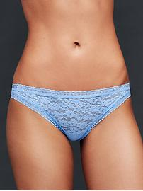 Soft lace cheeky tanga