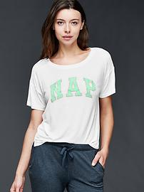 Mix and match modal nap tee
