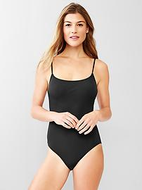Low-back one-piece