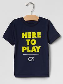GapFit toddler runner graphic tee