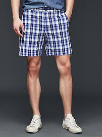 Getaway plaid seersucker shorts (18cm)