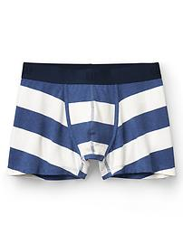 Rugby stripe stretch trunks